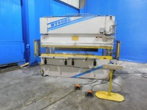 100 Ton X 10 Wysong Ths10012 Hydraulic Press Brake Sheet Metal Bender Forming