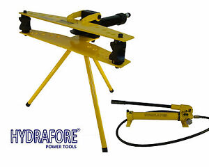 Hydraulic Pipe Tube Bender With Separable Hand Pump 1 2 2 W 2f mp