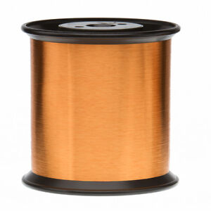 42 Awg Gauge Heavy Formvar Copper Magnet Wire 5 0 Lbs 0 0029 105c Amber Mw 15 c