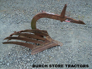 Ih Farmall 1 Pt Point Fast Hitch Bottom Turning Plow 140 130 Super A 100