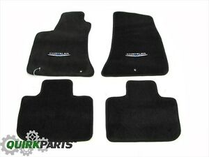 2011 2014 Chrysler 300 Rwd Floor Mats Set Of 4 Front Rear Mopar Genuine Oe New