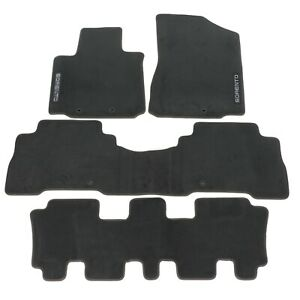 2014 Kia Sorento Floor Mats Front 2nd 3rd Row Oem Brand New Part 1u014 Adu21