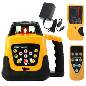 500m Range Automatic Self leveling Rotary Rotating Red Laser Level Kit W case