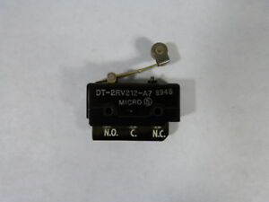 Microswitch Dt 2rv212 a7 Limit Switch With Roller Lever Used