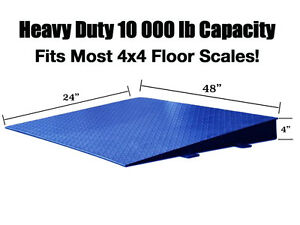 Floor Scale Ramp Customized For Small Spaces Pallet 4x4 48 X 24 x4