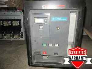 Ge Wph 08 600v 800a Air Circuit Breaker 400a Plug Wavepro 2 Yr Warranty