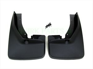 New Mopar Dodge Ram Trucks With Fender Flares Set Of2 Front Molded Splash Guards