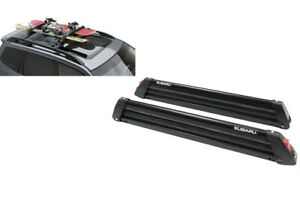 Subaru Outback Impreza Baja Roof Rack Ski Snowboard Cross Bar Oem New E3610as790