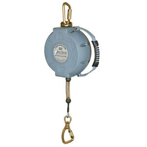 Falltech 727650 50 Ft Contractor Cable Self retractable Lifeline free Us Ship