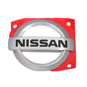 2002 2006 Nissan Altima Rear Trunk Lid Chrome Emblem Badge Oem New