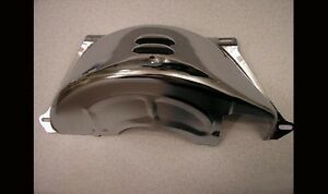 Chrome Chevy Turbo Th350 Th400 Chevrolet 350 Flywheel Flexplate Dust Cover