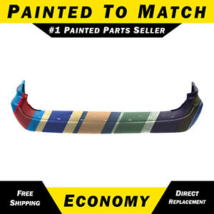 New Painted To Match Rear Bumper Cover For 2001 2007 Dodge Grand Caravan Long