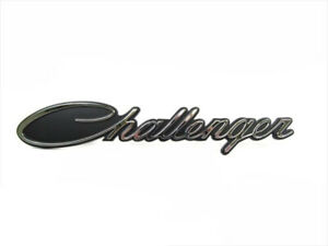 2015 2017 Dodge Challenger Chrome Emblem Badge Nameplate Oem New Mopar