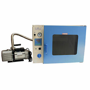 Hfs Brand 1 9 Cu Ft 16x14x14 Vacuum Degassing Drying Oven 250c Bundle With Pum