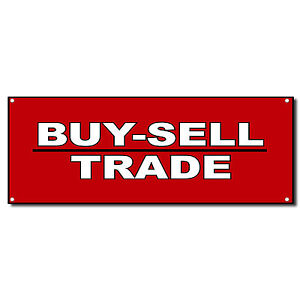 Buy Sell Trade Business Vinyl Banner Sign W Grommets 3 Ft X 6 Ft