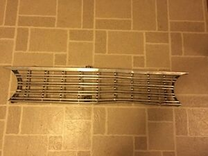 62 Ford Fairlane Grille Original Unrestored Oem