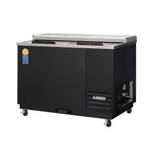 New Everest Egc50 Double Lid Glass Plate Chiller Bottle Beer Cooler 49 5
