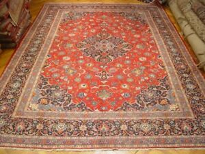 Authentic Classic Quality Persian Kashan Rug 10x15