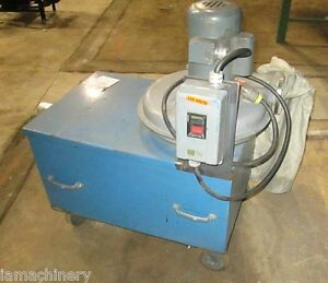 875 Cfm Cincinnati Air Fume Dust Collector Electric Barrel Type 1 2 Hp