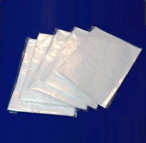 2000 Clear Poly Bags 10x12 1 Mil Case Open Top End For T shirt Printed Graphic