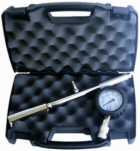Nni Quick Disconnect Hydrant Pump Flow Test Pitot Tube Gauge 160 Psi With Case