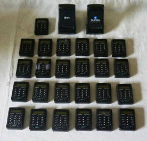 Lot Of Supra 25 Display Keys 2 Display Key Cradles