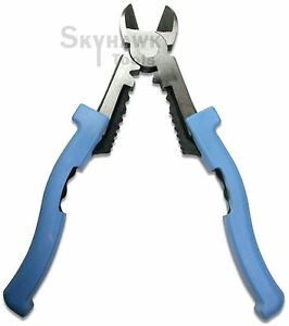 8 Wire Or Cable Cutter Pliers Multi purpose Electrical Crimping Stripping Tool