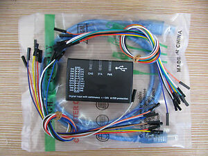 New Usb Logic 100mhz 16ch Logic Analyzer For Arm Fpga