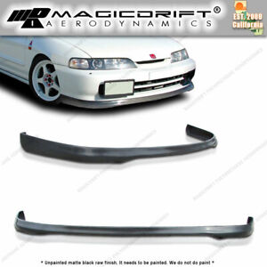 Itr Urethane Lip Aftermarket Made For 94 97 Acura Integra With Jdm Front Bumper