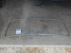 Mercedes Benz Ponton Front Windshield Trim Wind Shield Screen Aluminum B