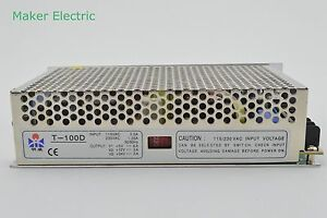T 100d 100w Dc24v Dc5v Dc12v Triple Output Switching Power Supply Adapter