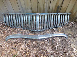 1949 Desoto Grille And Top Bar