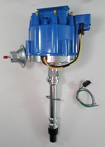 Chevy Small Big Block 283 305 327 350 396 400 427 454 502 Blue Hei Distributor