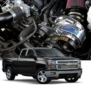 Chevy Gm Gmc Truck Suv Procharger 5 3l P 1sc 1 Supercharger Ho System Kit 14 18