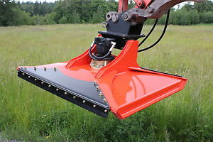 Cyclone 48 Rotary Mower For Excavators And Other Boom Applications