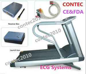 Contec 8000s Wireless Stress Ecg Systems 12 Lead soft Ware Ecg Data Collection