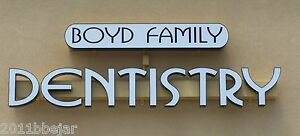 30 Non Lighted Custom Channel Letters Retail Business Sign 100 Machine Made