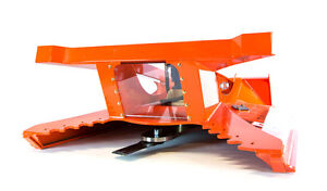 Brush Cutter For Bobcat And Skid Steer Loaders For Machines W 25 32 Gpm