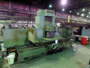 24 X 72 Chuck Mattison Automatic Surface Grinder 84 Travel
