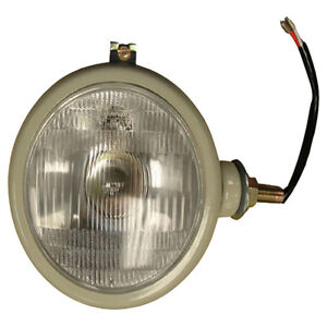 310066f Rh Grey Head Light 12v For New Holland Tractors 2n 8n 9n