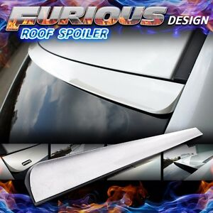 Furious Design Unpainted 02 13 Saab 93 9 3 Ii 2nd Sedan 4dr Rear Roof Spoiler