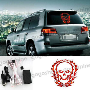 40 30cm Car Music Rhythm Flash Lamp Light Led Sticker Sound Activated Equalizer