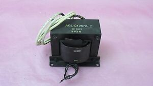 Astex Gerserling Agl C12872 Filament Transformer 60 1016 Gasonics 406325