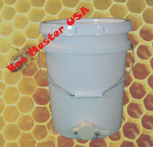 Pros Choice Best Honey Bottling Pail bucket With Honey Gate And Lid Food Grade