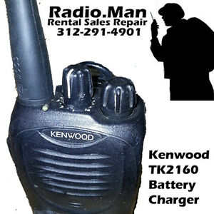 Kenwood Tk 2160 With Charger Vhf 16 Channel 5 Watts Bpr40 Cp185 Cp200 Murs