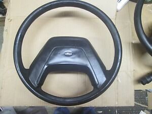 1987 Ford F100 250 350 Ford Truck Oem Used Black Steering Wheel Composites