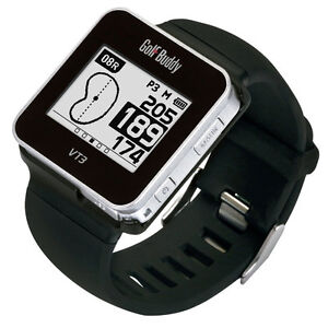 Golf Buddy GB8-VT3-14 Smart Golf Watch, Black, Small