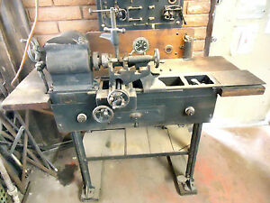 Museum Quality 1925 Elmco Universal Test Stand For Ford Model A s