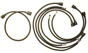 Cloth Jacket Spark Plug Wires For 1946 1954 Plymouth