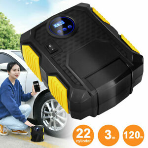 Tire Inflator Car Air Pump Compressor Digital Truck Bicycle Auto Dc 12v 150psi